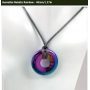 Hematite Rainbow Pendant - MEDIUM - 40 mm/1.57 in